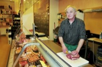 Huth is the butchers name, coming from Ertstadt, close to Bonn